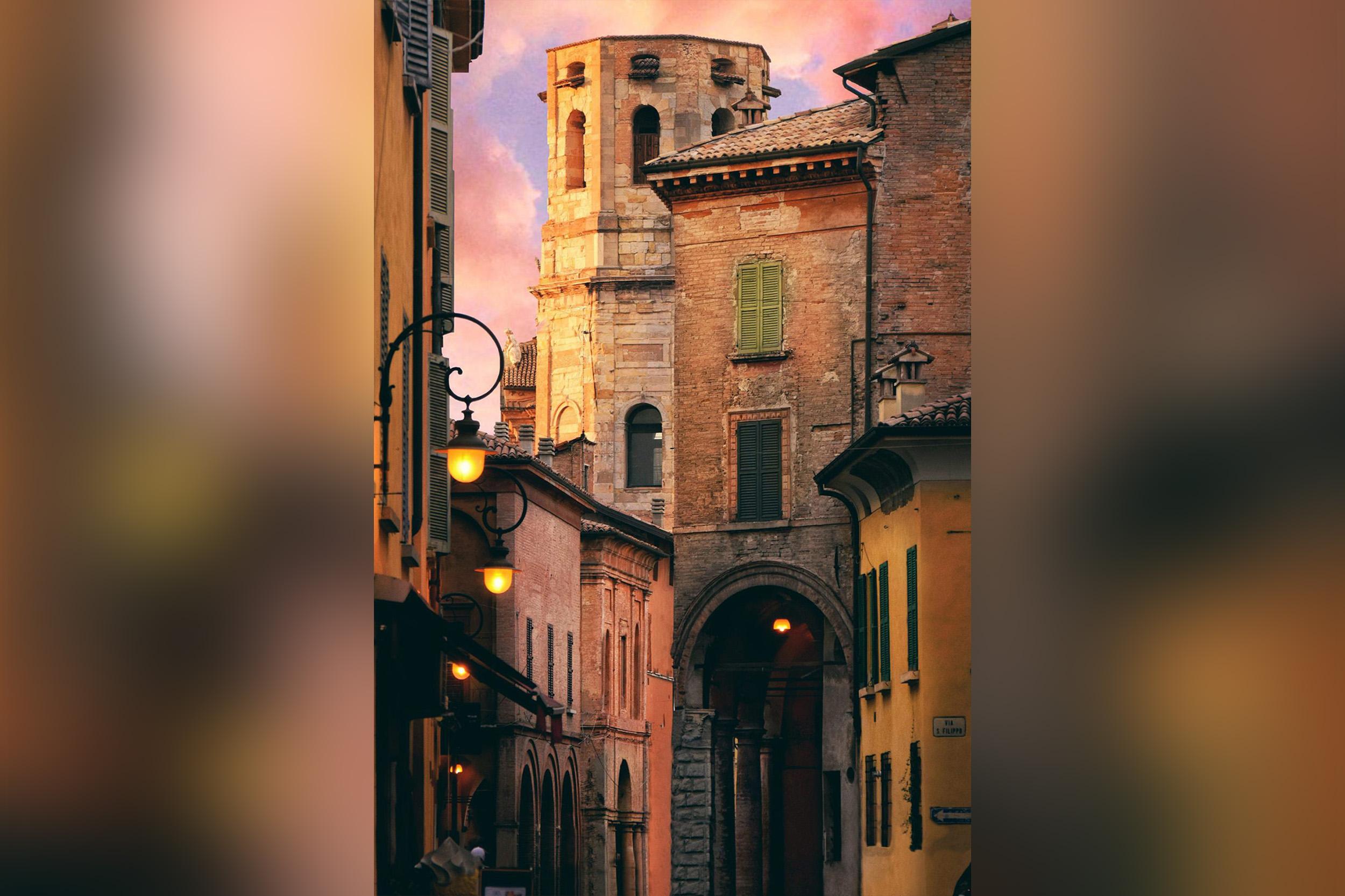 Straßen von Reggio Emilia